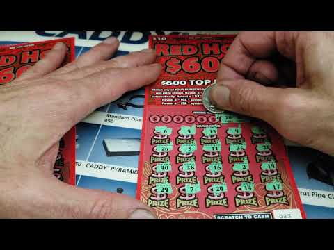 11 **Red Hot $600 **New York Lottery Scratch Offs - YouTube