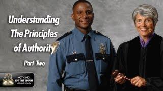 Understanding The Principles Of Authority - Part 2