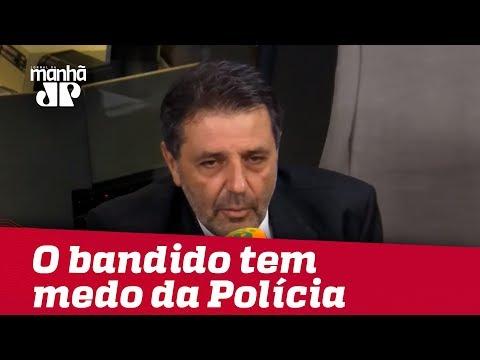 Delegado Nico: o bandido tem medo da Polícia e não tem medo da Justiça