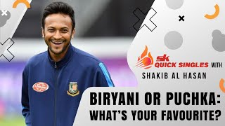 Biryani or Puchka: What's your favourite? Shakib answers | SK Quick SIngles screenshot 3
