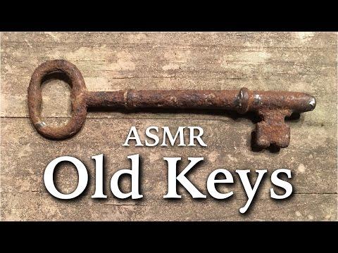 ASMR Old Keys (tapping, jingling, scraping, tinkering, NO speaking)