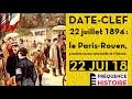 FRÉQUENCE HISTOIRE ? Date-clef : 22 juilet 1894, le Paris-Rouen, première course automobile