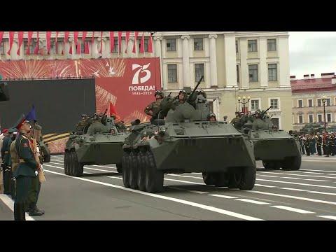 По всей России прошли генеральные репетиции Парада в честь 75-летнего юбилея Великой Победы.