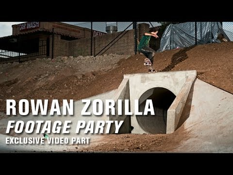 Rowan Zorilla 'Footage Party' Video Part - TransWorld SKATEboarding