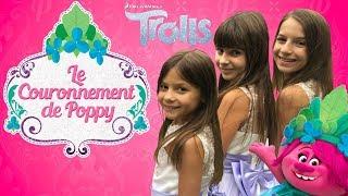 TROIS PRINCESSES AU COURONNEMENT DE POPPY ! Lévanah&Family streaming