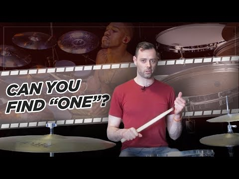 Drum Lesson - Can You Find
