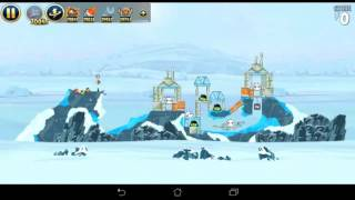 Angry Birds Star Wars Hoth All levels
