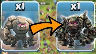 SCARY GOLEM TANK | Clash of clans | GIANTS AND GOLEM RAIDS
