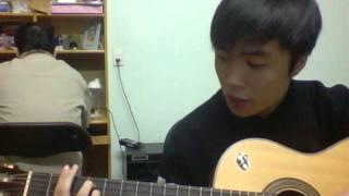 nụ cười trong mắt em guitar (cover) loctran