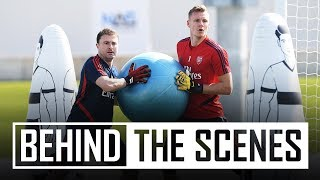 Leno, Martinez & Macey | Behind the scenes in Dubai | Goalkeepers special