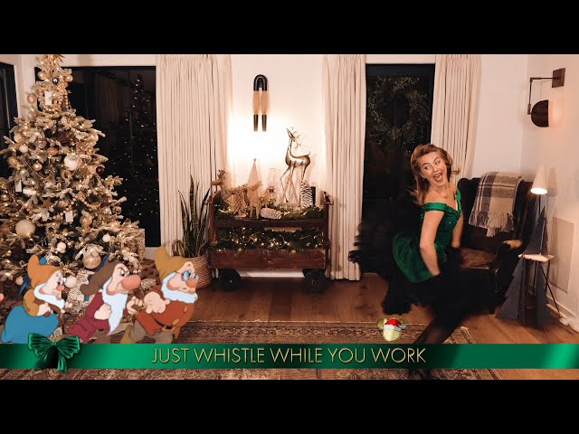Julianne Hough Performs \'Whistle While You Work\' and \'Let It Snow\' - The Disney Holiday Singalong