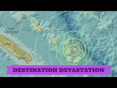 Strong aftershocks shaking Loyalty Islands, New Caledonia after shallow M7.0!