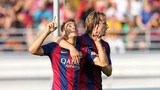 HIGHLIGHTS - HJK HELSINKI - FC Barcelona, 0-6 (Friendly match, 2014/15)