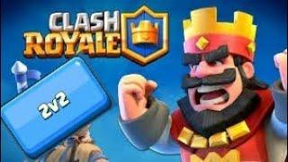 Clash Royale 2v2 partner! (some mistakes?)