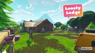 Fortnite Places (not the best in the world but decent)!