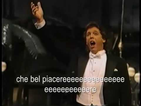 Largo al Factotum Thomas Hampson (Lyrics in Italian)