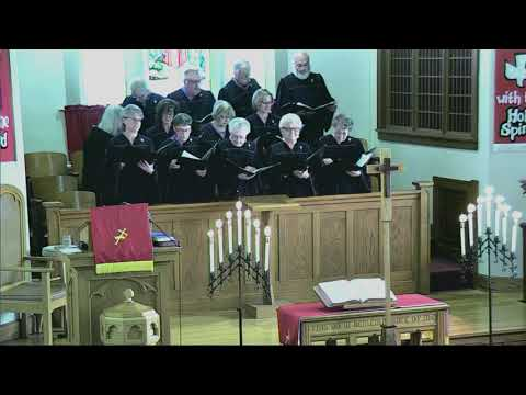 May 20, 2018 First Presbyterian Church Service Miller SD