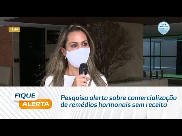 Pesquisa alerta sobre comercialização de remédios hormonais sem receita veterinária