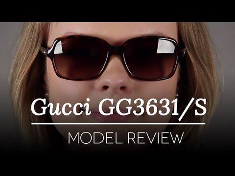 373a6cf4a5e86 Gucci GG 3631S Sunglasses Review. SmartBuyGlasses