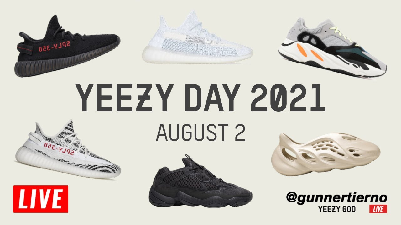 Here's What Released For 2021 Adidas Yeezy Day