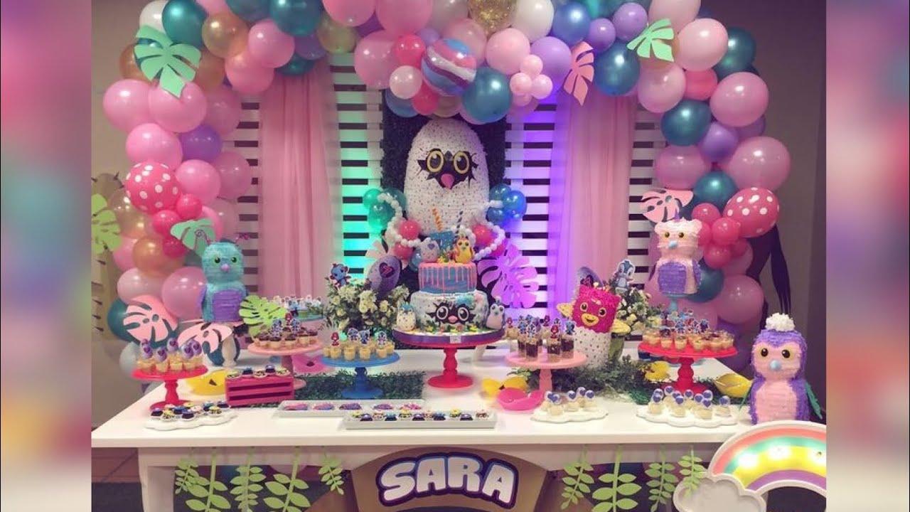 Fiesta de hachimals 2019 party girls decoraciones - Decoraciones para cumpleanos infantiles ...