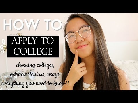 HOW TO: APPLY TO COLLEGE