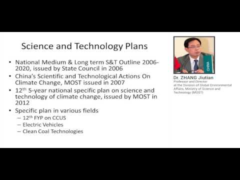 Webinar on Science, Technology & Innovation Policy for Low Carbon Development