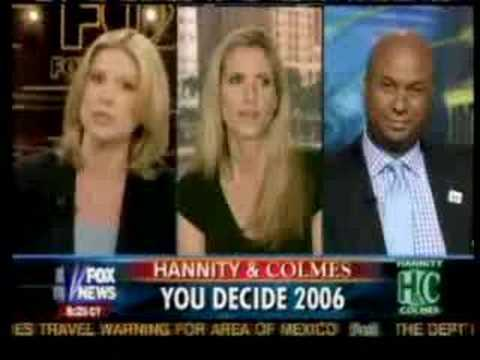 Ann Coulter Storms off of Hannity & Colmes