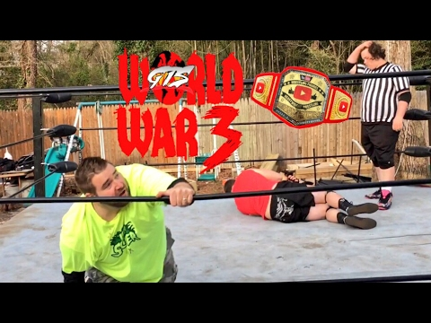 MOST SHOCKING TITLE CHANGE EVER! GTS WRESTLING SUPERCARD MATCH GONE WRONG!
