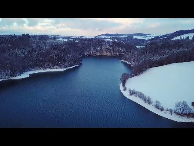 Ile d'Ogoz hiver | MavicPro | 4K