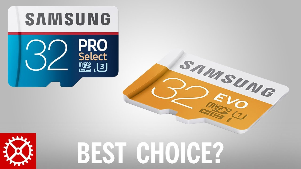 952c64eaa Best Samsung Micro SD Card for Different Devices - YouTube