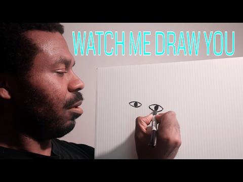 Watch Me DRAW YOU [ASMR]