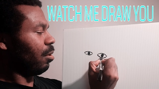 Watch Me DRAW YOU [ASMR]