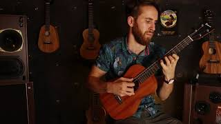 George Harrison Ukulele Mash-up, Here comes the sun/while my guitar gently weeps, Pono-MB