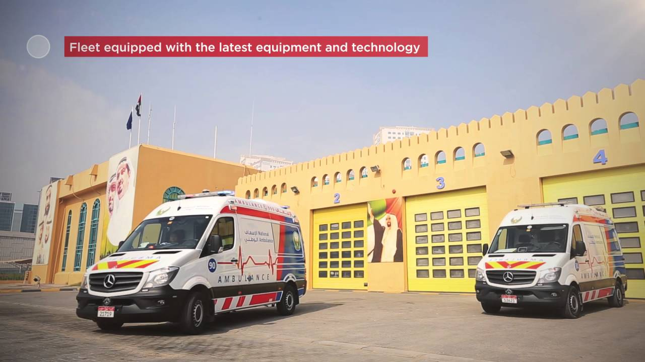998 is the emergency ambulance number for National Ambulance in the  Northern Emirates