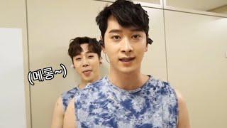 [2PM] 찬성이 놀리는 귀여운 악꼬 이준호