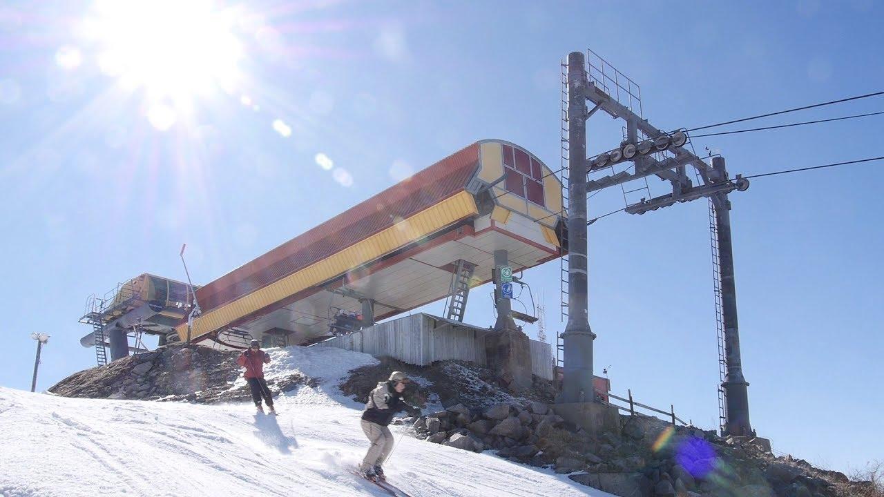 Versant du Village #4 - Bromont, montagne d'expériences / Poma Quad Detachable Chairlift