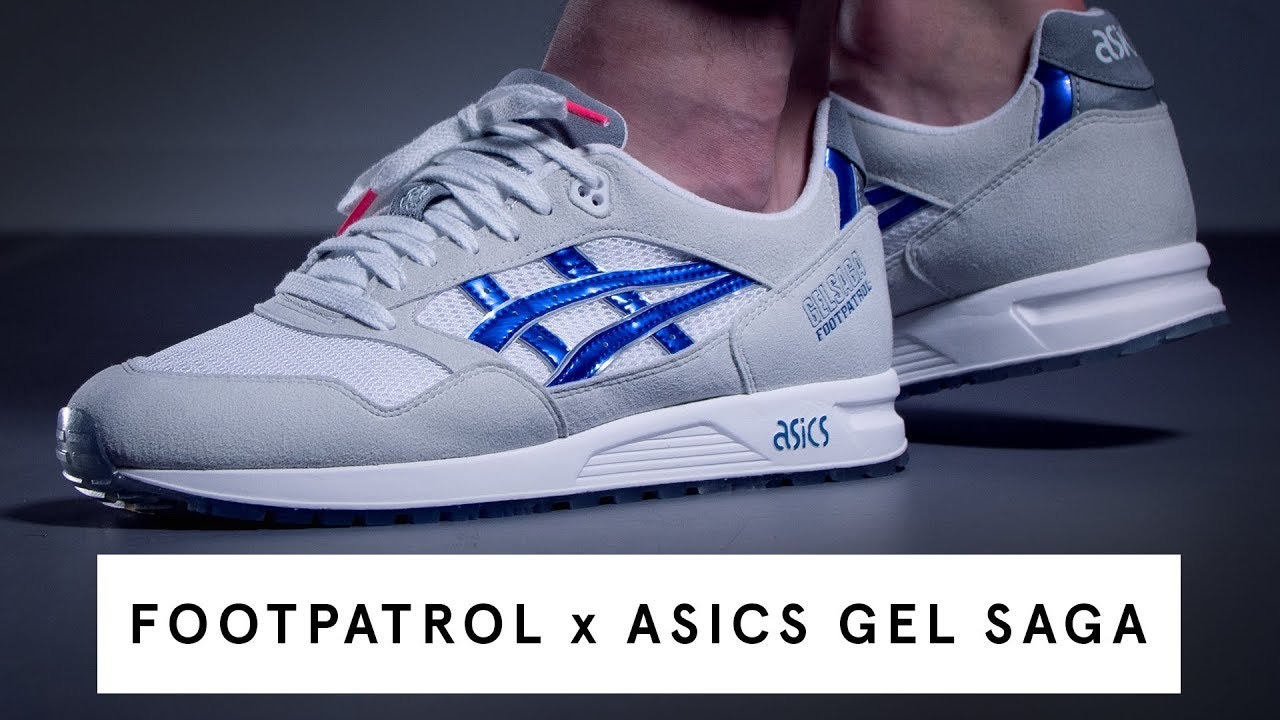 low priced 06b75 7a9c6 Foot Patrol x Asics Gel Saga | Review