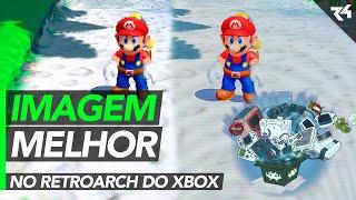 Como melhorar a imagem do RetroArch no Xbox