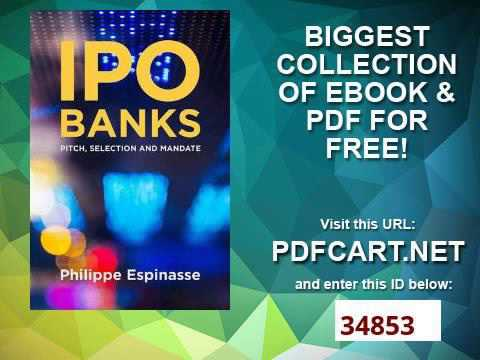 IPO Banks Pitch, Selection and Mandate