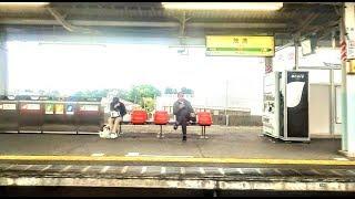 【JR外房線】上総一ノ宮~大網間、右側車窓  Kazusa-ichinomiya  Ōami