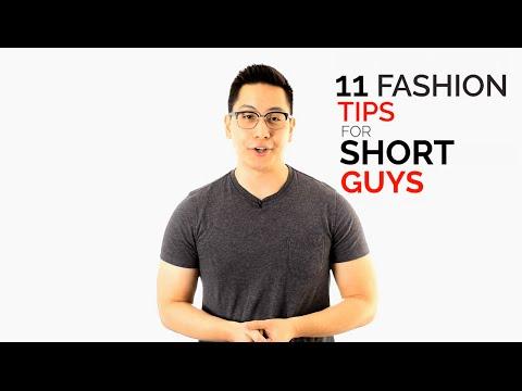 11 Fashion Tips for Short Guys - Dress Taller Tricks