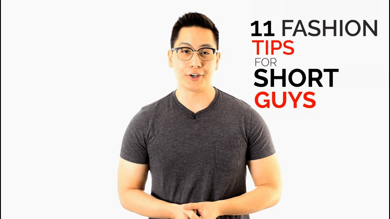 11 Fashion Tips for Short Guys - Dress Taller Tricks - YouTube