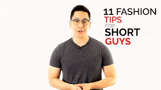 11 Fashion Tips for Short Guys - Dress Taller Tricks