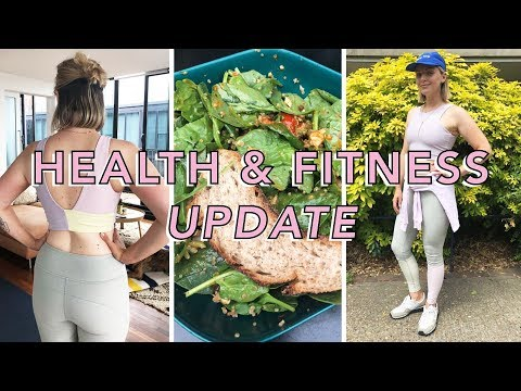 HEALTH AND FITNESS UPDATE - YOGA / FOOD / WORKOUT CLOTHES ETC.