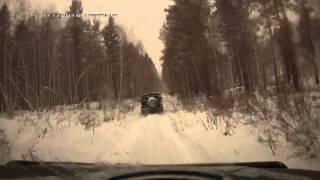 Поездка по лесу клубом УАЗ Патриот