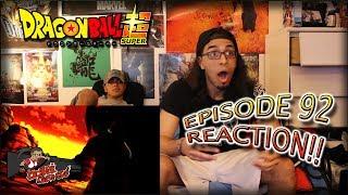 Dragon Ball Super Ep. 92 REACTION + Predictions!! |