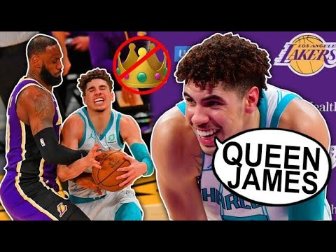 Download LAMELO BALL DISRESPECTS LEBRON JAMES THEN CHALLENGES HIM VS THE LAKERS! | MELO EARNS BRON'S RESPECT!