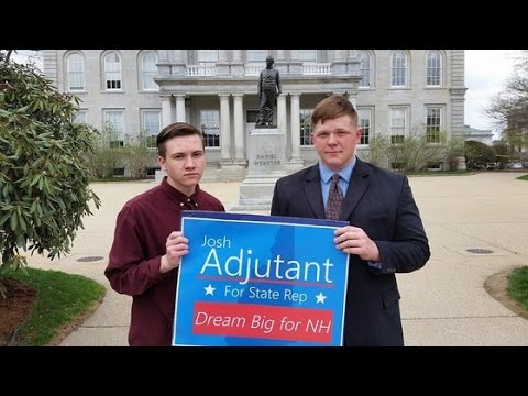 Josh Adjutant for New Hampshire State Rep (Interview)