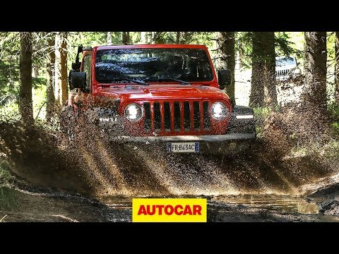 2018 Jeep Wrangler Rubicon 4x4 Off Road Review Autocar Youtube